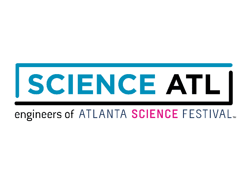 The logo for Science ATL.